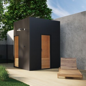 Sauna Black Terrace Garden
