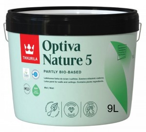 Optiva Nature 5 baza A  9L  Tikkurila